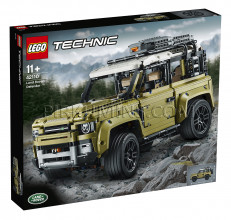 42110 LEGO® Technic Land Rover Defender, no 11+ gadiem NEW 2019!