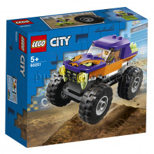 60251 LEGO® City Monstru vāģis, no 5+ gadiem NEW 2020!
