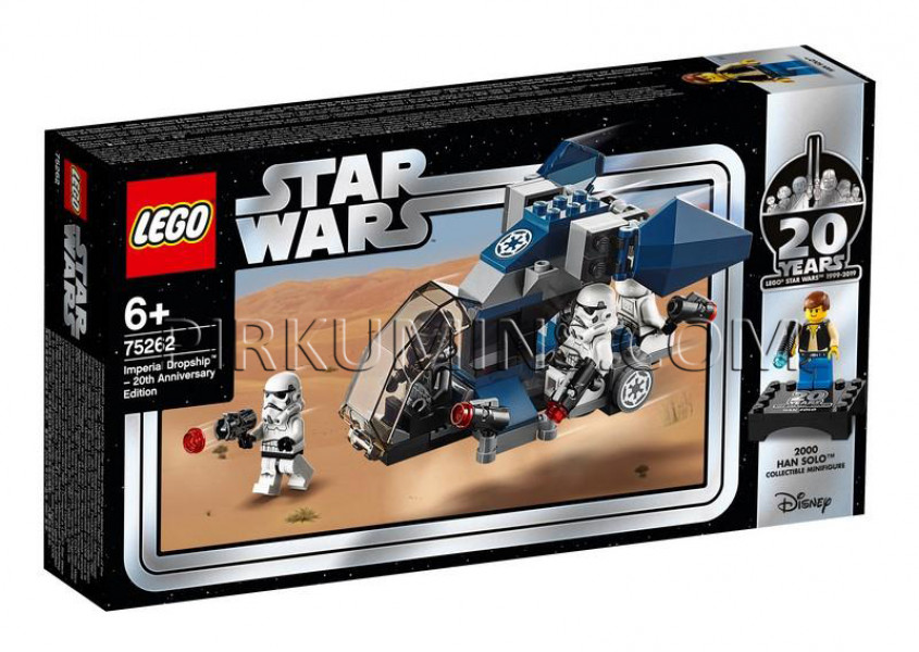 75262 LEGO® Star Wars Imperial Dropship™ – 20th Anniversary Edition, no 6+ gadiem NEW 2019!